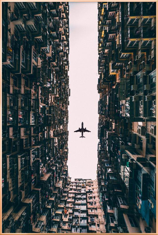 Watch It Soar by Kevin Cho Poster in Aluminium Frame