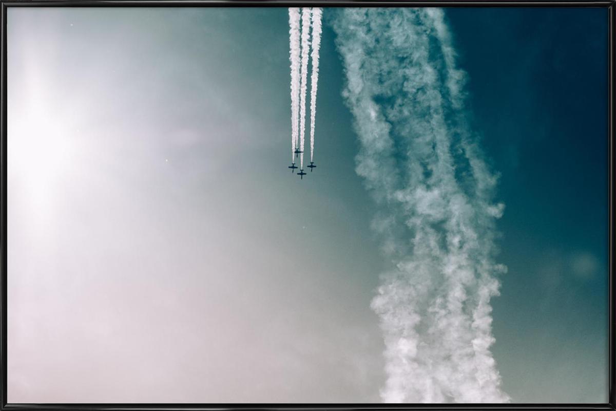Squadron of the Skies by Jonas Peschel Poster i standardram