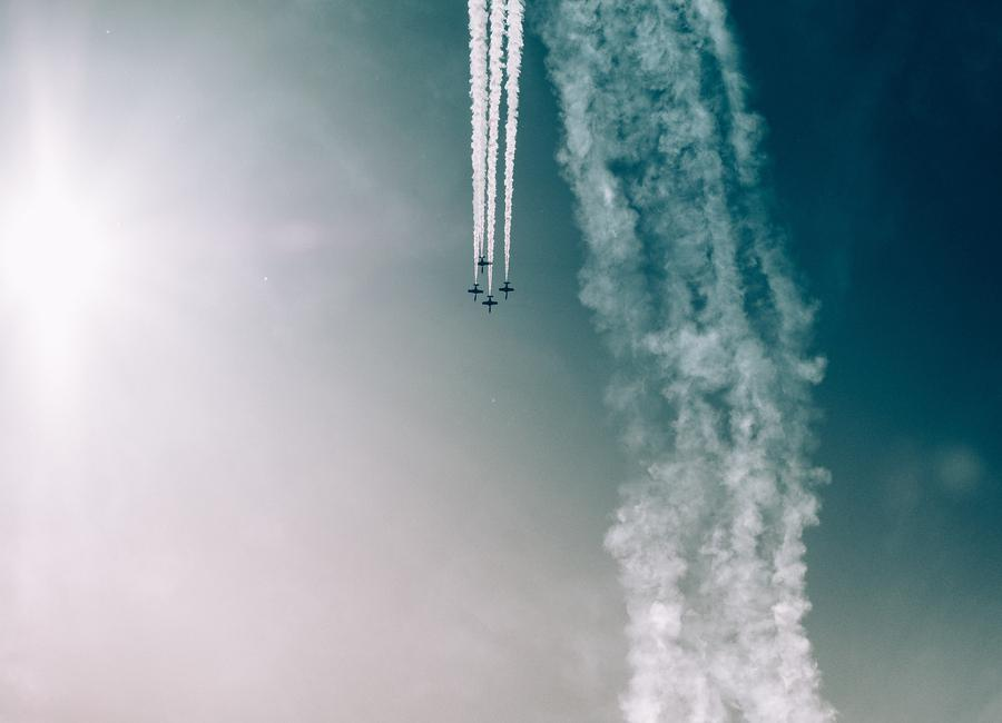 Squadron of the Skies by Jonas Peschel toile