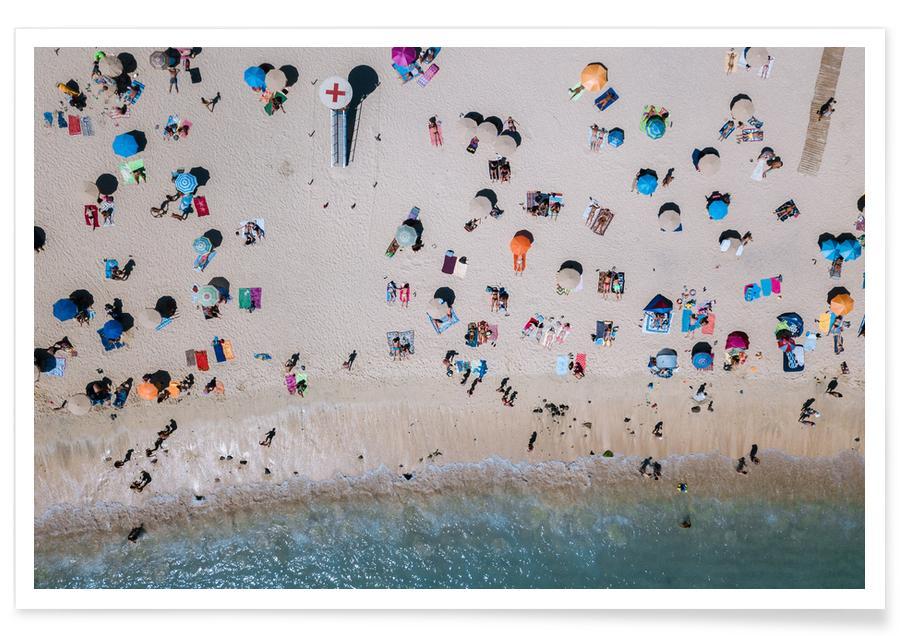 Life's a Beach by Michael Schauer affiche