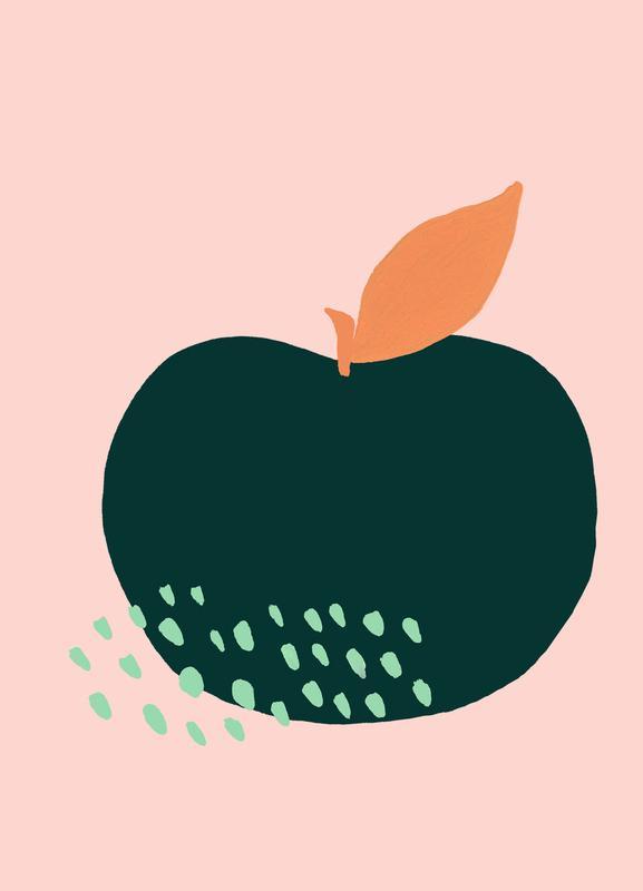 Joyful Fruits - Apple toile