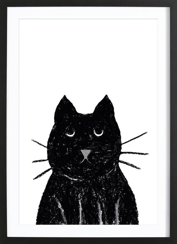 Innocent Cat ingelijste print