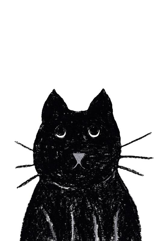 Innocent Cat acrylglas print
