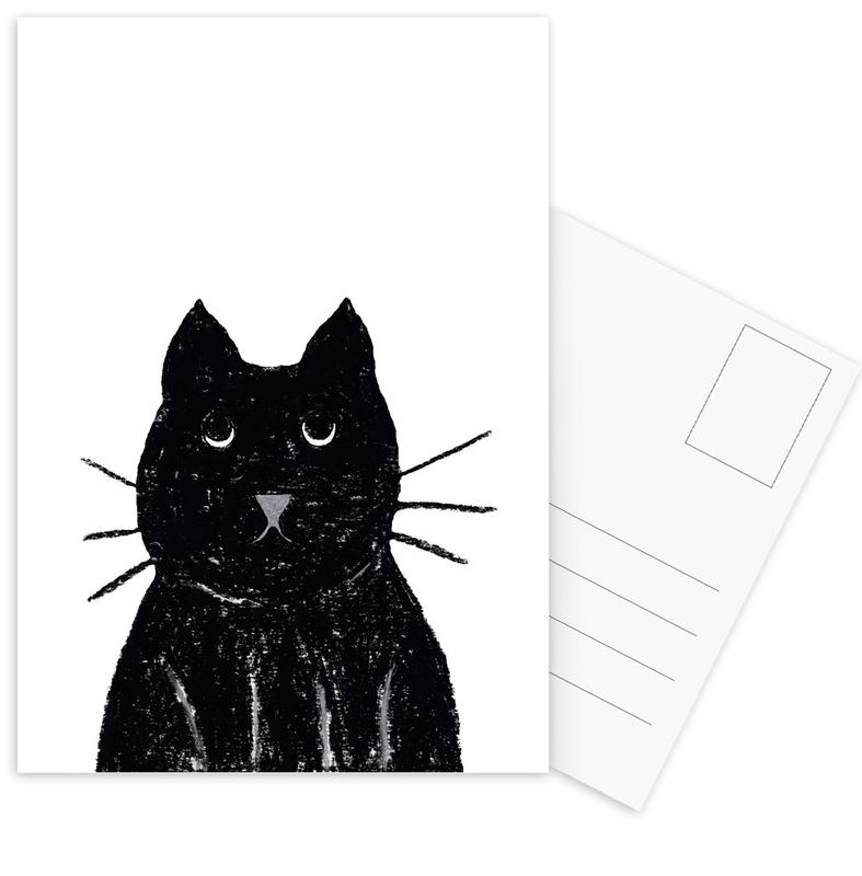 Innocent Cat Postcard Set