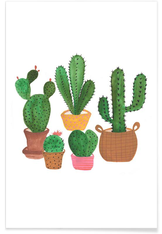 Cactus Family Poster