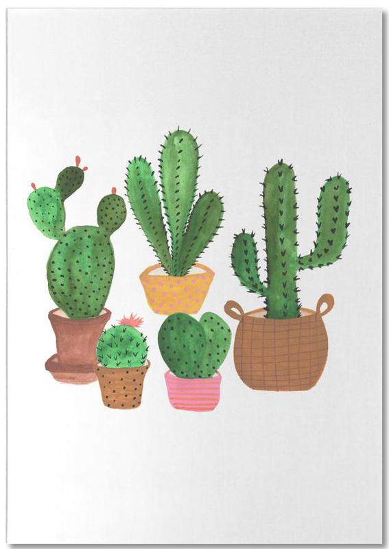 Cactus Family Notepad