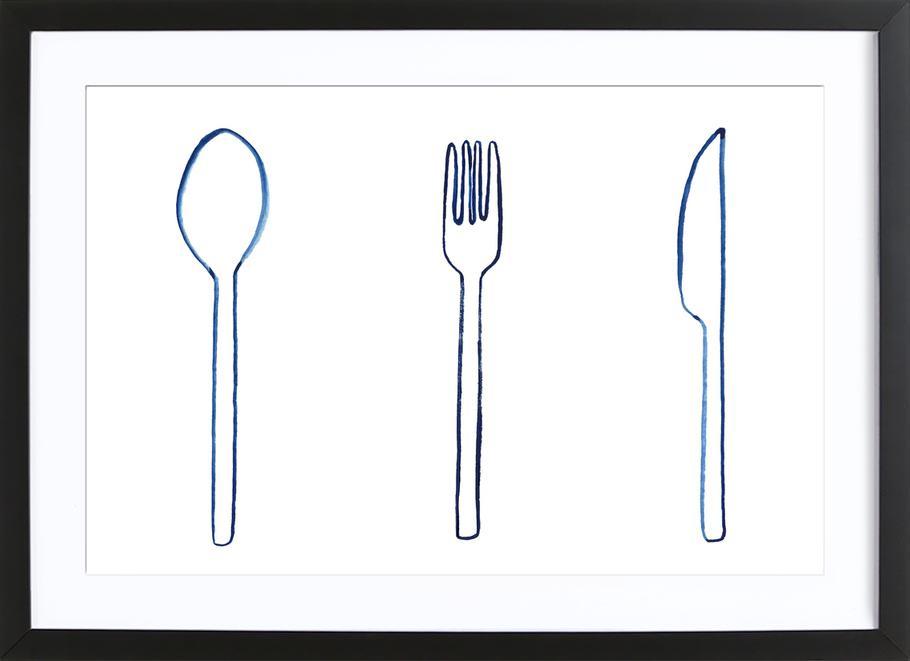 Kitchen Objects Vol.1 Framed Print