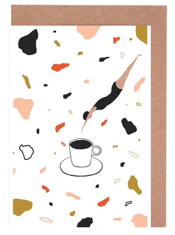 Coffee Lady cartes de vœux