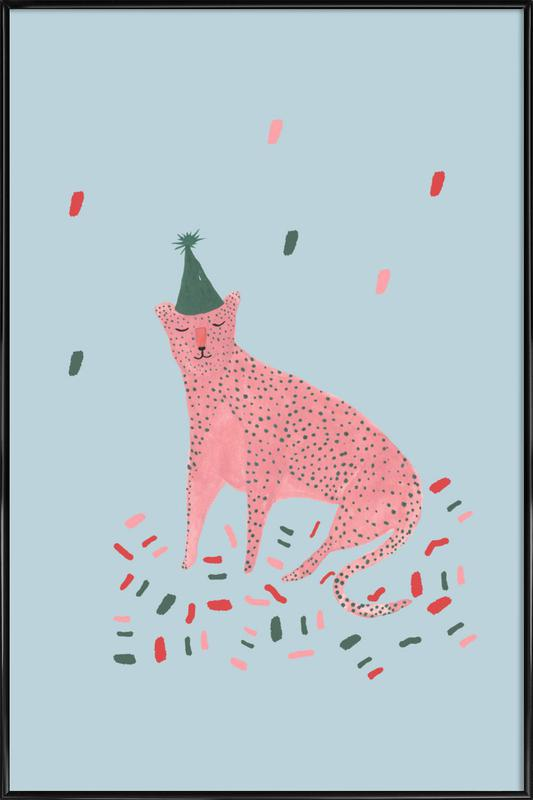 Party Animal Vol.1 -Bild mit Kunststoffrahmen