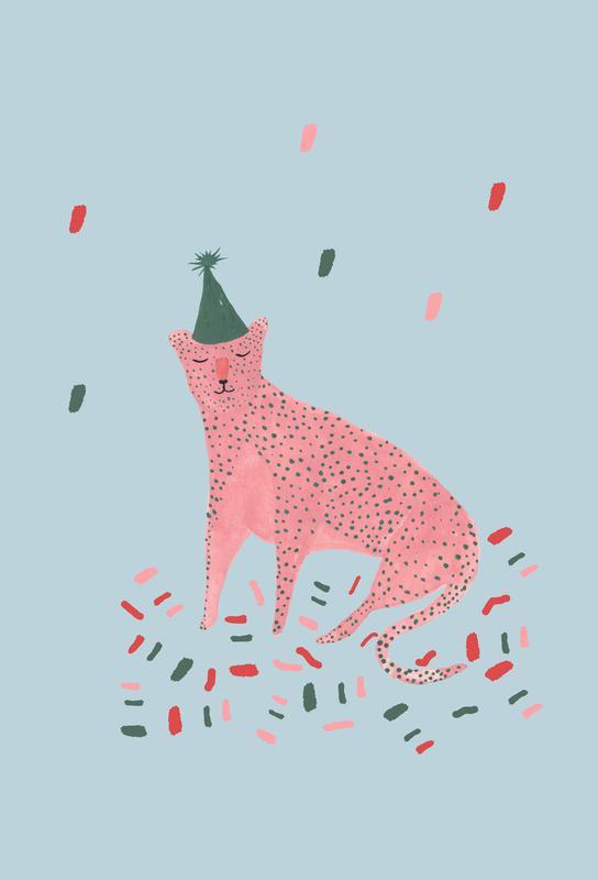 Party Animal Vol.1 tableau en verre