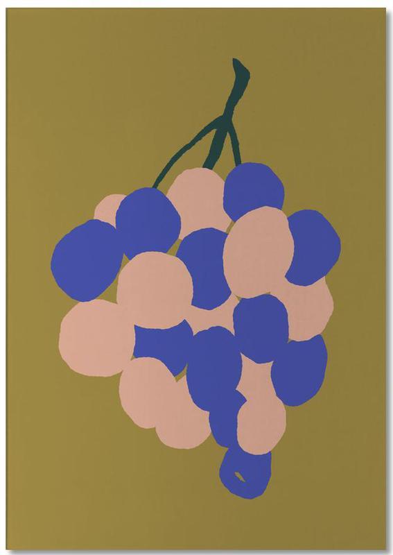 Joyful Fruits - Grapes Notepad