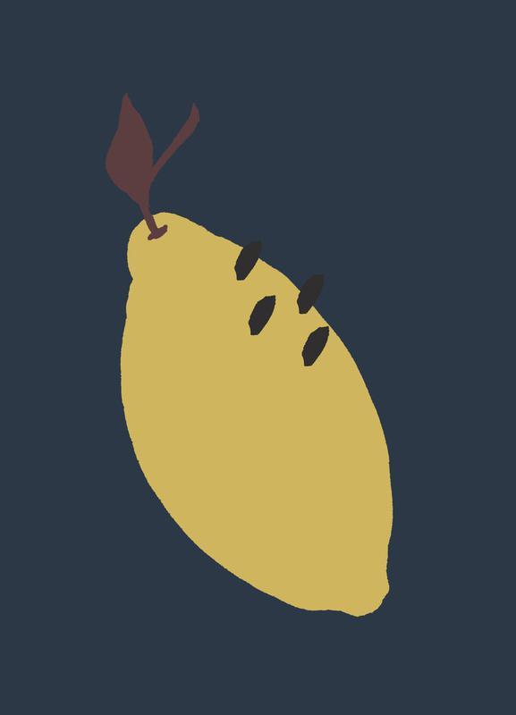 Joyful Fruits - Lemon toile