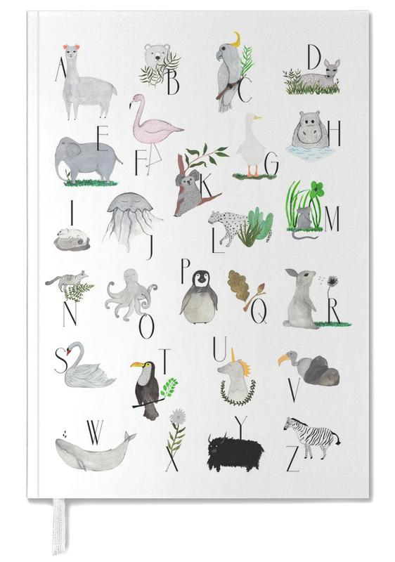 Animals with Letters Personal Planner
