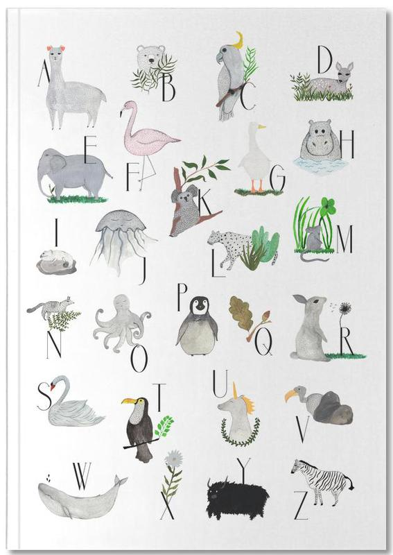Animals with Letters Notebook