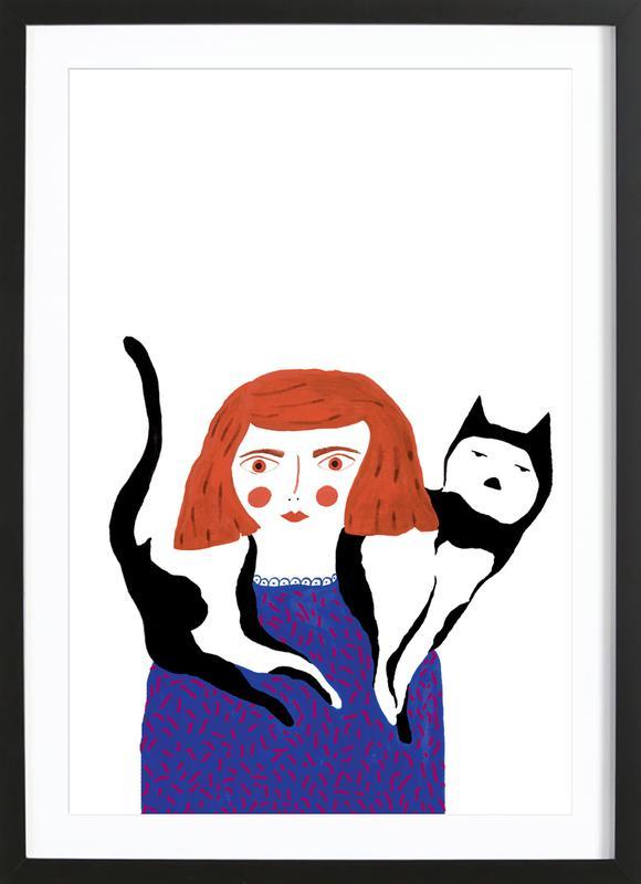 Love is Big Framed Print