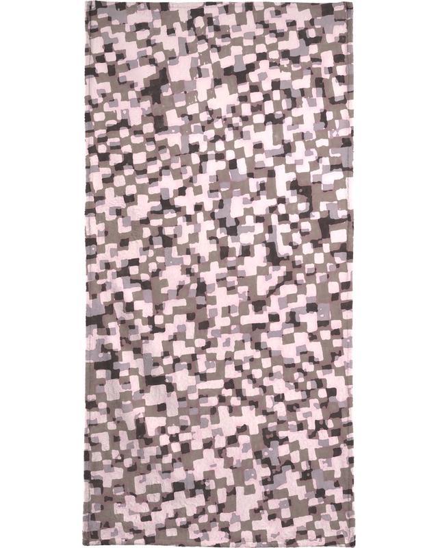 Sahkyi Black Bath Towel