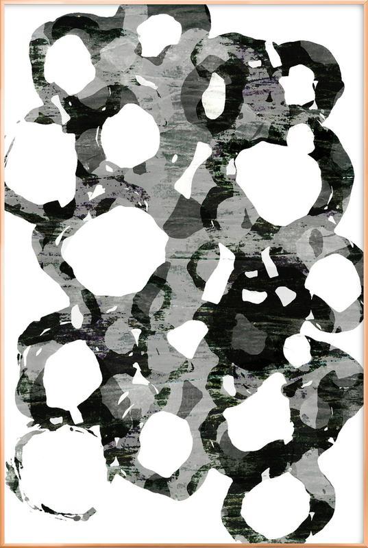 Paper Study I -Poster im Alurahmen