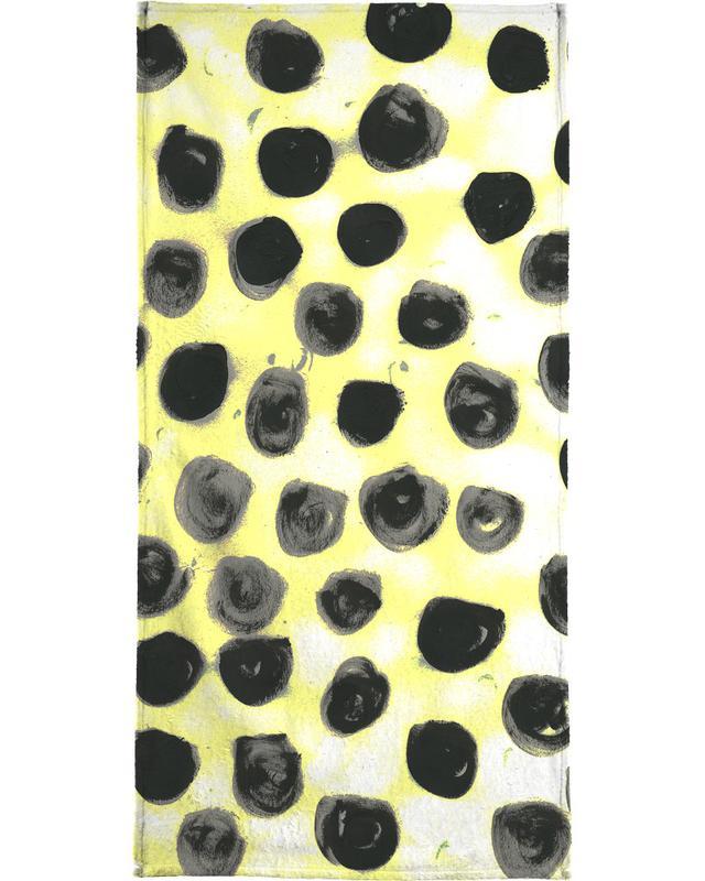Cross Yellow serviette de bain