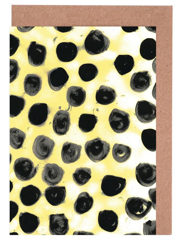 Cross Yellow -Grußkarten-Set