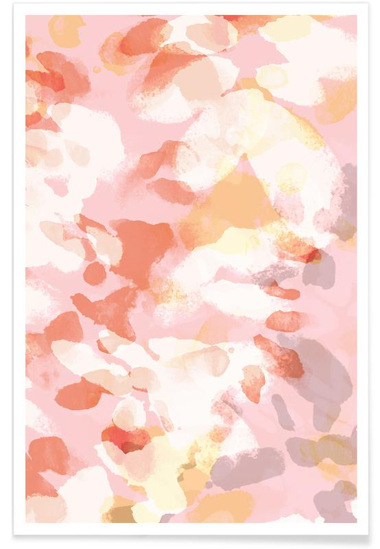 , Floral Pastell Poster