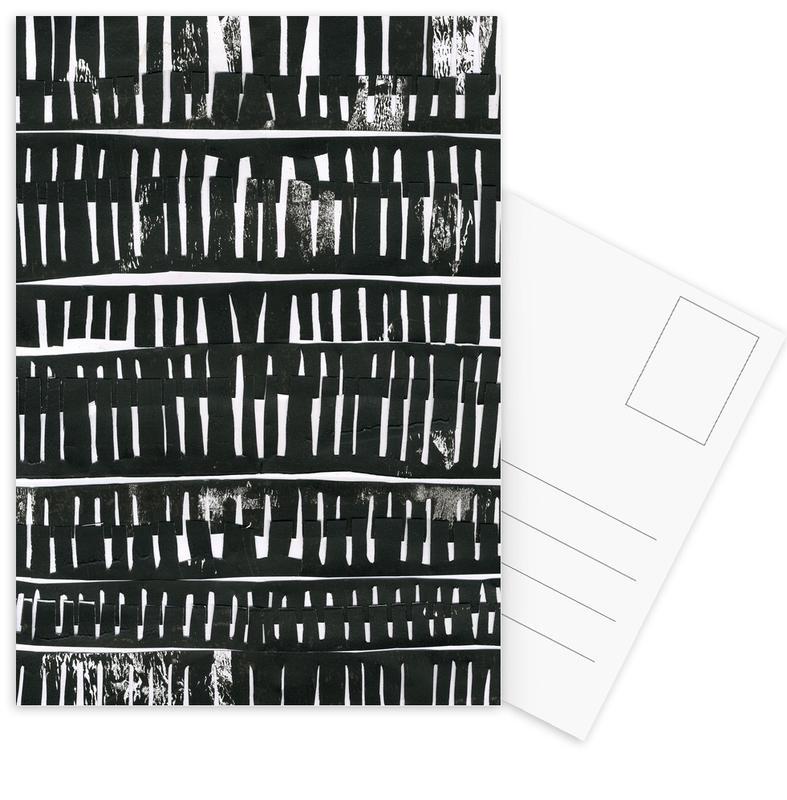 Organical Texture II Postcard Set