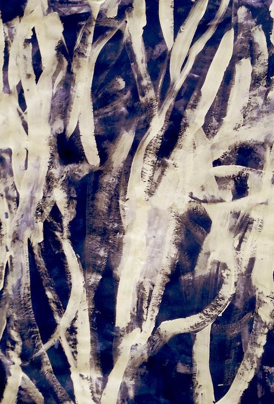 Rakugaki -Acrylglasbild