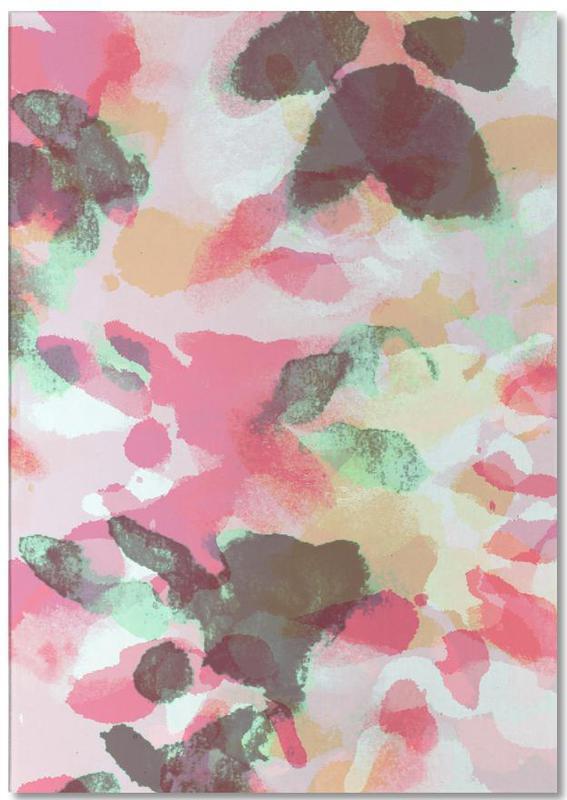 Floral Aquaellic bloc-notes