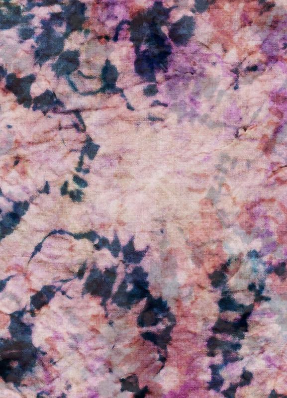 Textile Study Rosé Canvas Print