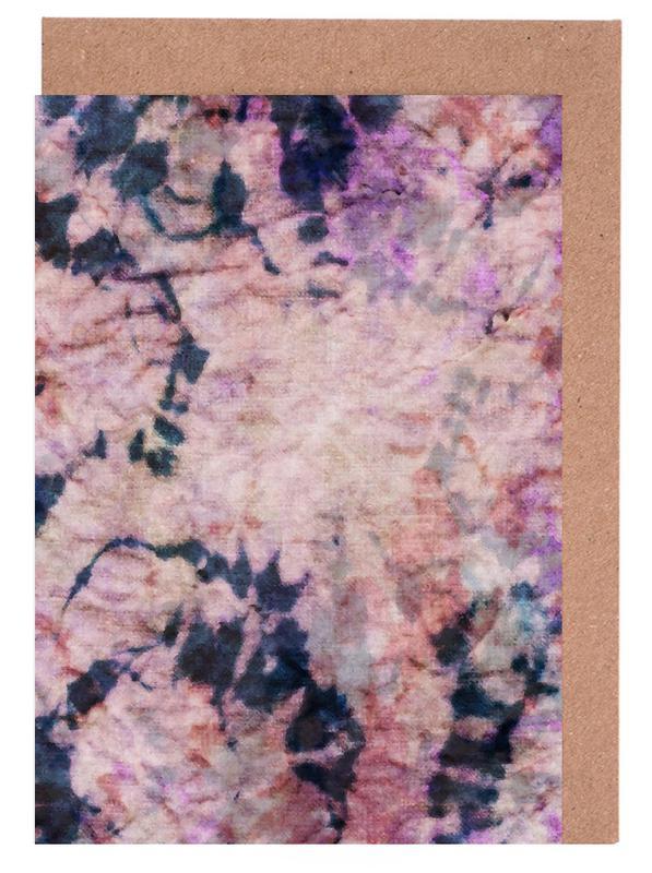 Textile Study Rosé cartes de vœux