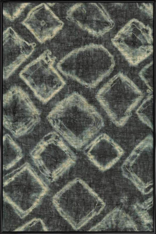 Textile Study Bordeaux affiche encadrée