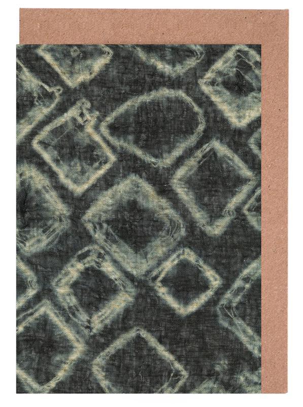 Textile Study Bordeaux -Grußkarten-Set