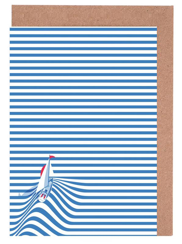 Sail Away Greeting Card Set