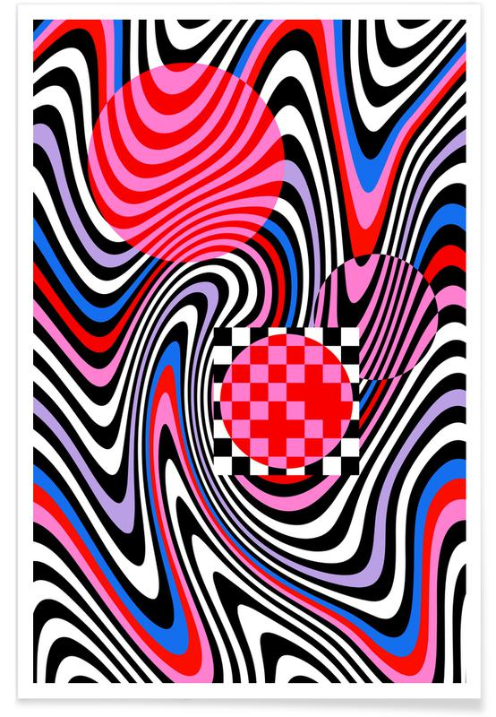 , Optical Waves poster