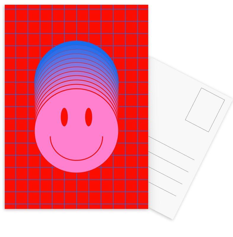 Symbols, Smiley 1 Postcard Set