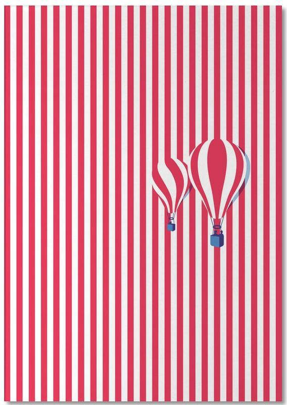 High Balloon -Notizblock