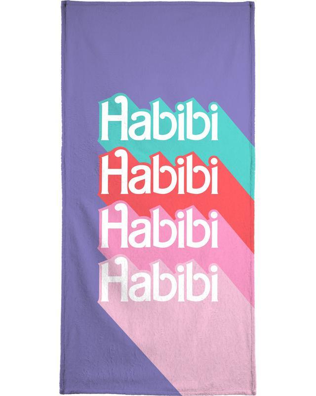 Habibi Rainbow -Strandtuch