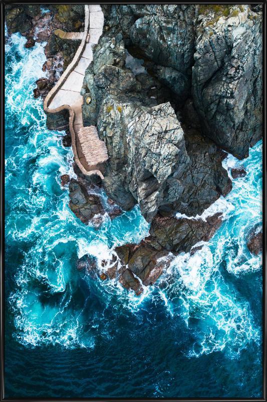 Rock House Framed Poster