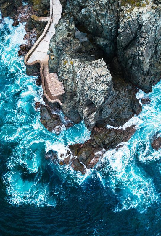 Rock House -Acrylglasbild