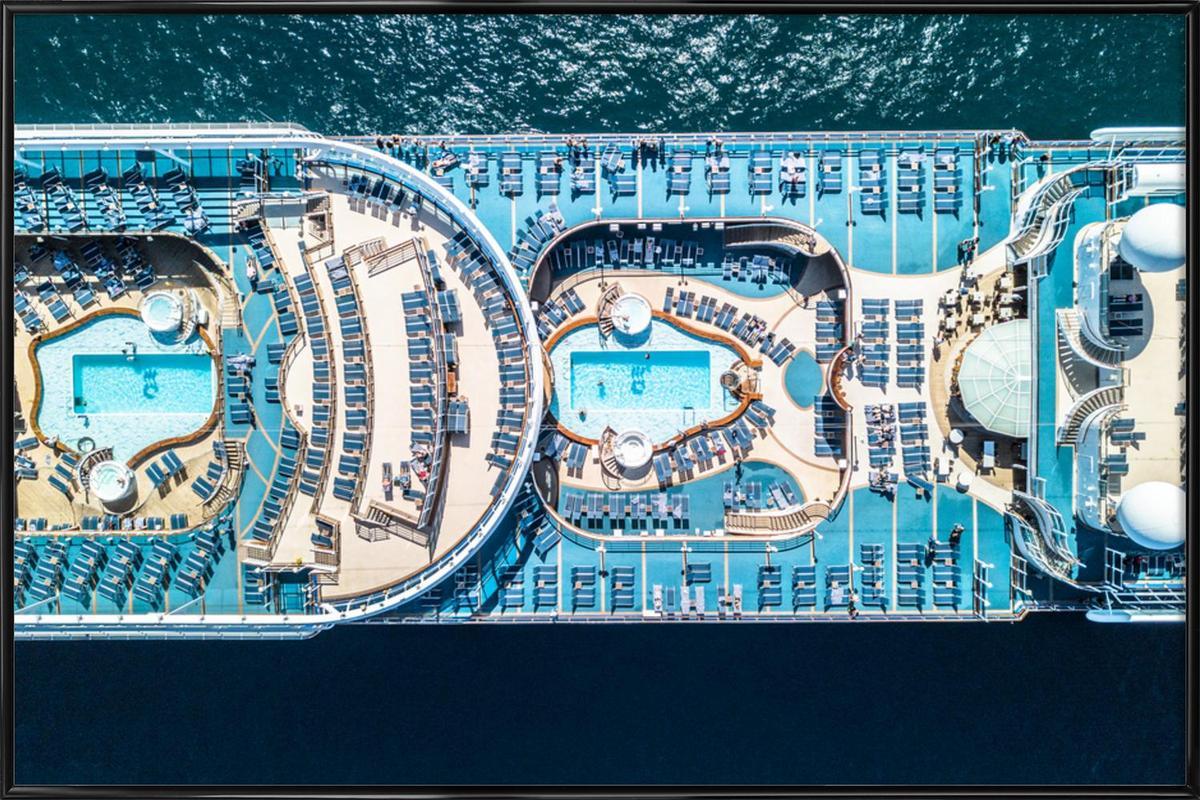 Cruise affiche encadrée