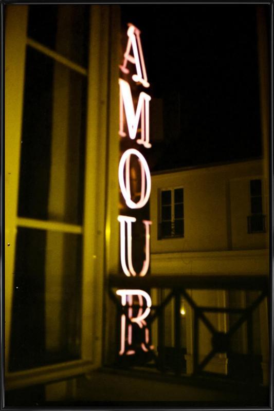 Amour Framed Poster