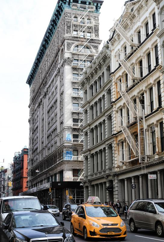 New York Aluminium Print