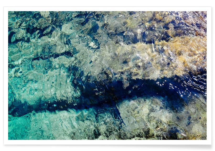 Ozeane, Meere & Seen, Reise, Water -Poster