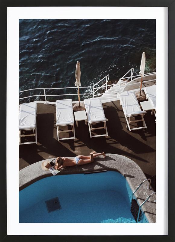 Swimming Pool ingelijste print