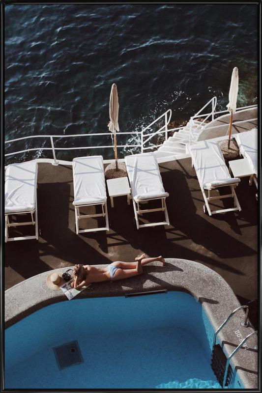 Swimming Pool ingelijste poster
