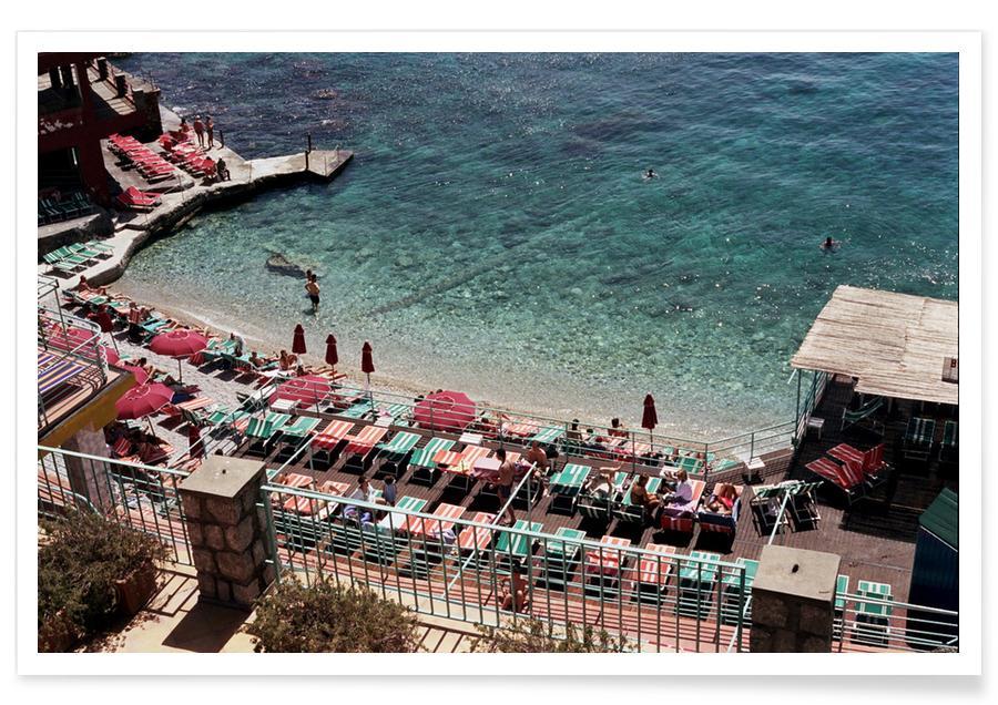 Strände, Ozeane, Meere & Seen, Reise, Amalfi -Poster