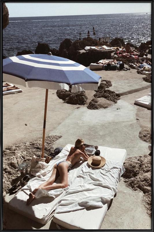Capri Framed Poster