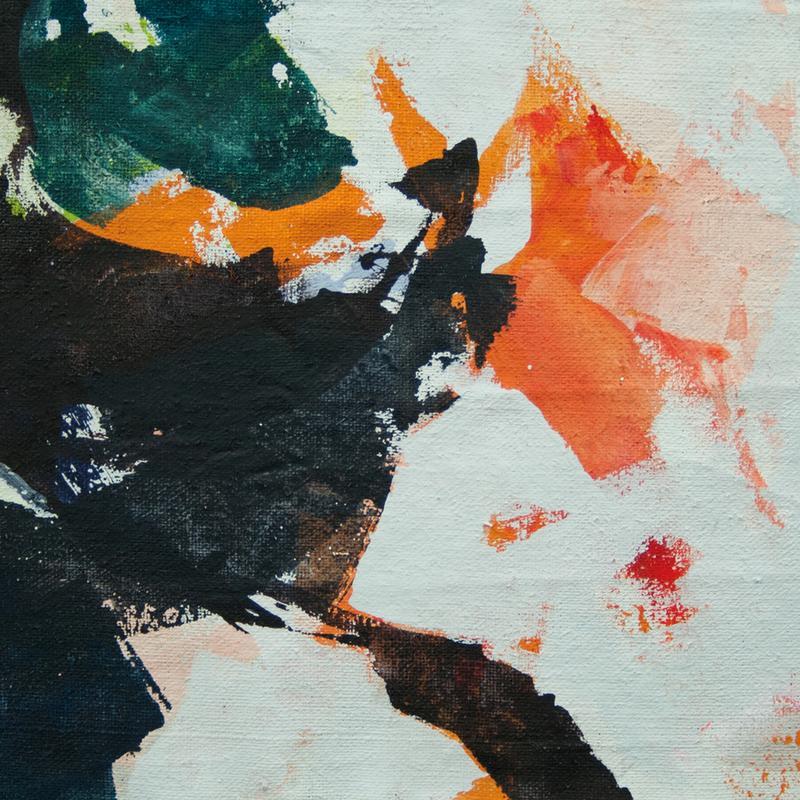 Melt Series 05 canvas doek