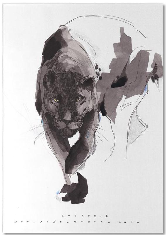 Black Panther -Notizblock