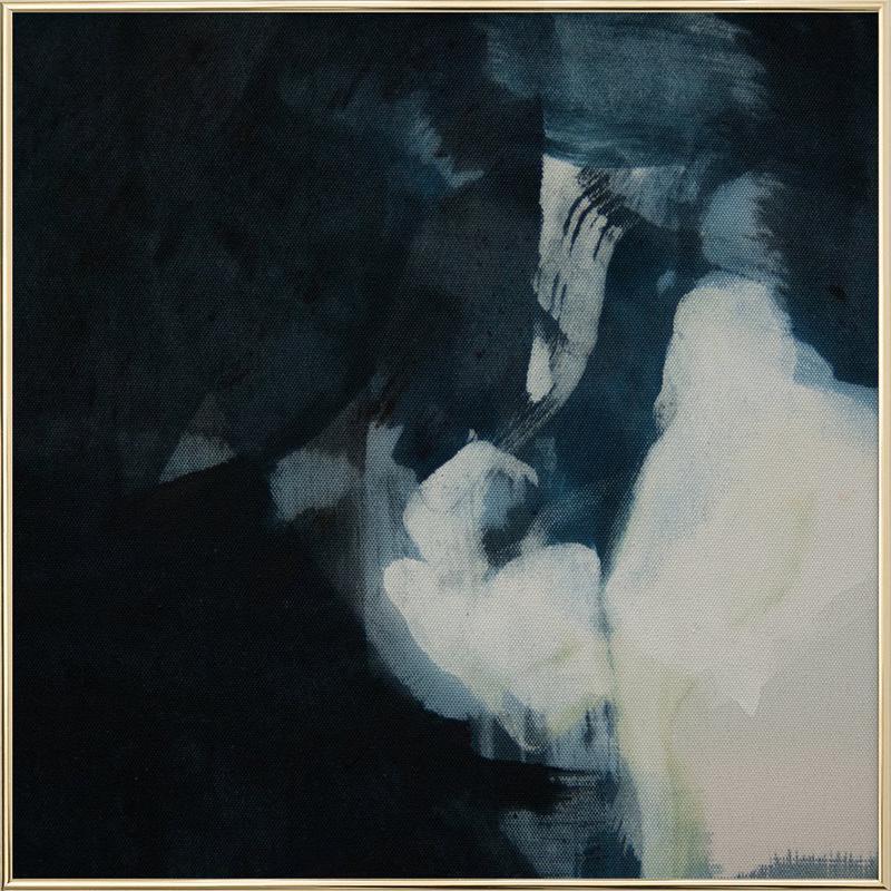 Melt Series 09 -Poster im Alurahmen