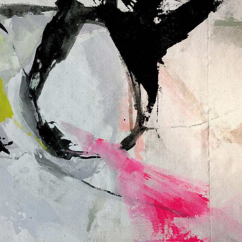 Melt Series 10 canvas doek
